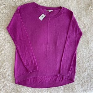 GAP Magenta Purple Crewneck Sweater